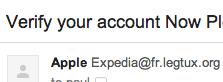 Apple Verify Your Account
